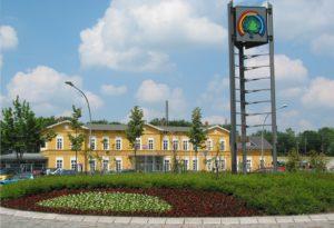 Der Bahnhof (Quelle: Stadt Rheda-Wiedenbrück)