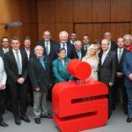 Der Verwaltungsrat der Stadt Rietberg nach der Ehrung von Franz Schütte und André Kuper