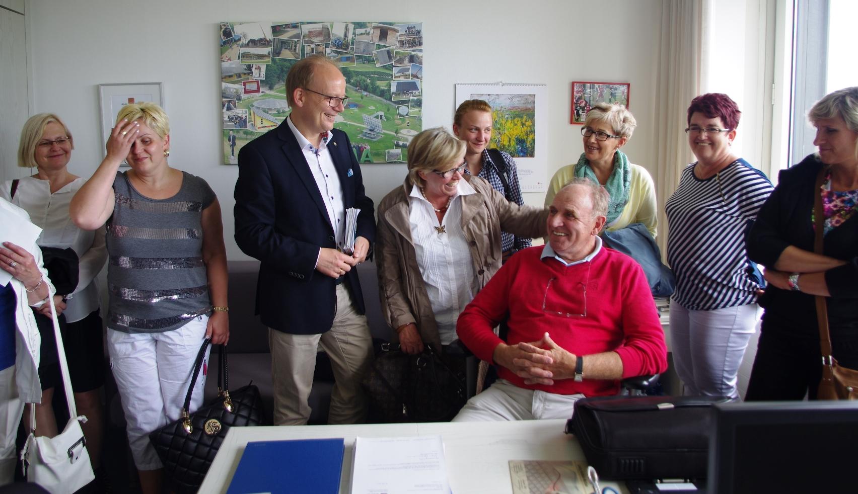 140530_Besuchergruppe Oberglgau Landtag André Büro