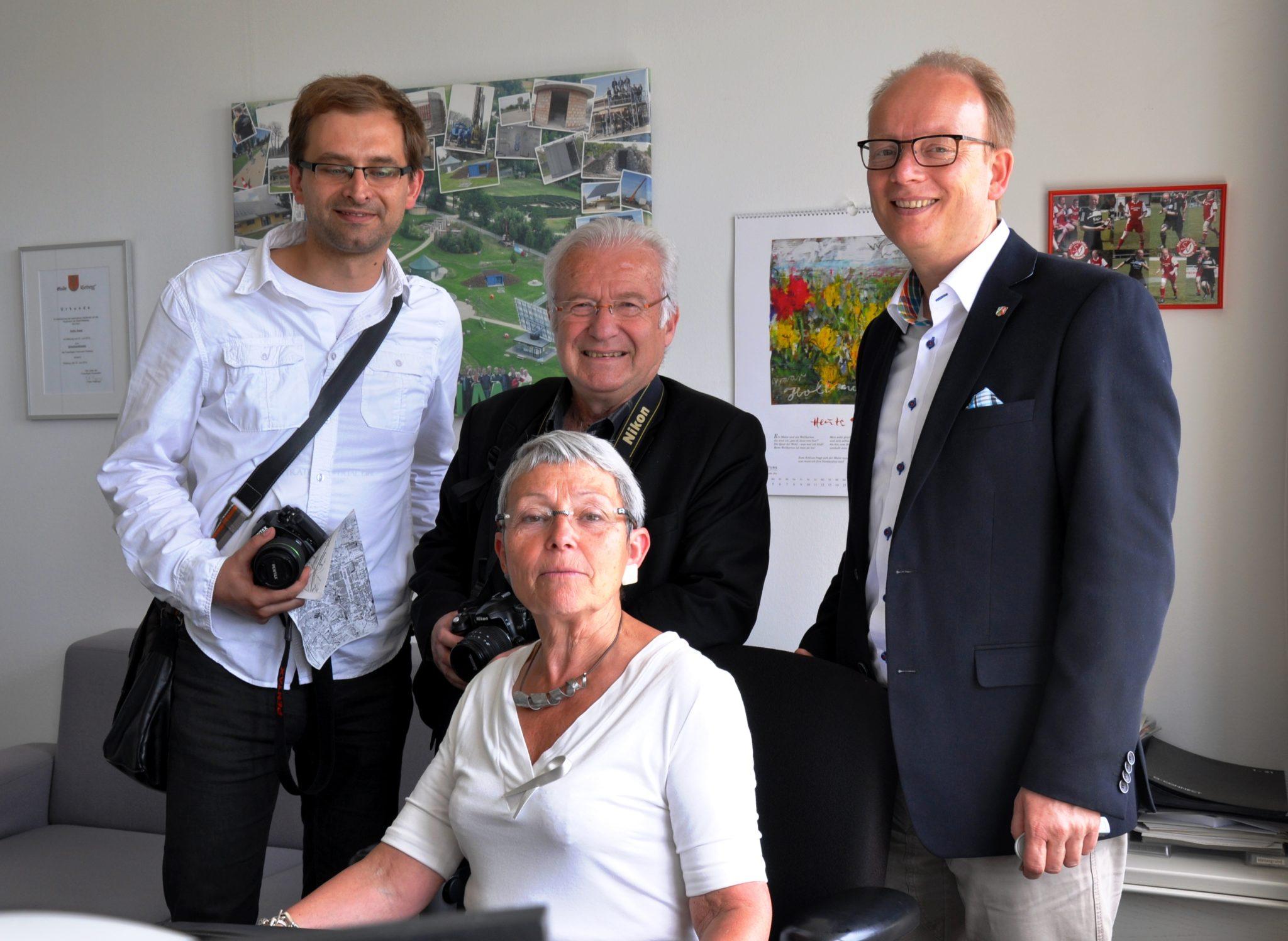 140530_Besuchergruppe Oberglogau Landtag Büro André