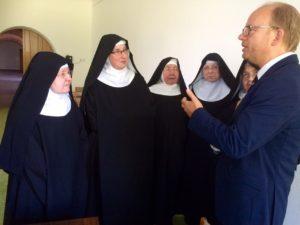 150801_Besuch im Kloster Varensell Gesprächsrunde