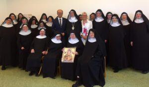 150801_Besuch im Kloster Varensell Gruppenfoto